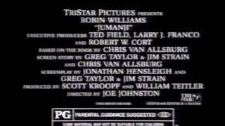 Jumanji Movie Trailer 1995 - TV Spot