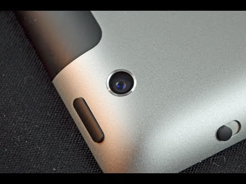 Apple iPad (3rd Generation): Camera Demo