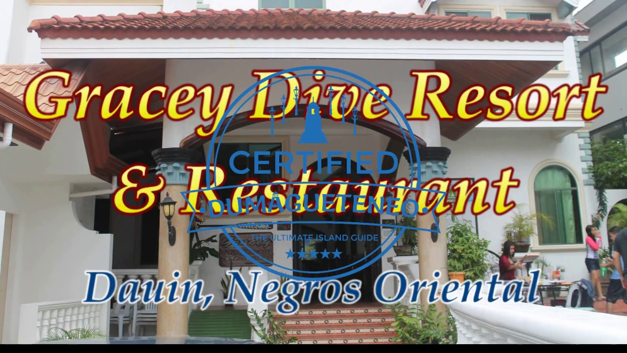 Gracey Dive Resort Dumaguete Youtube
