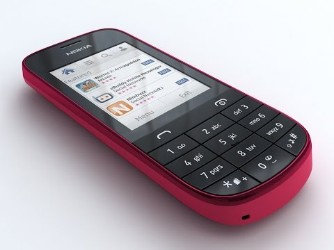 3D Model Nokia Asha 203 at 3DExport.com