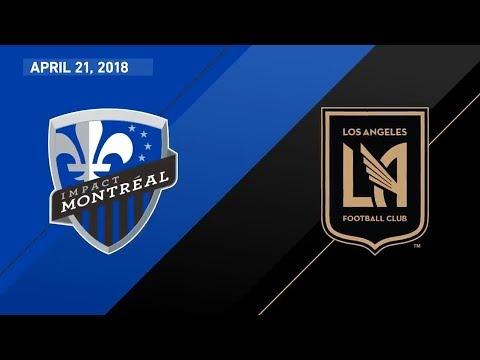 HIGHLIGHTS: Montreal Impact vs. Los Angeles Football Club | April 21, 2018