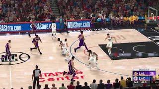 NBA 2K20 LA Lakers vs LA Clippers PS4 PRO