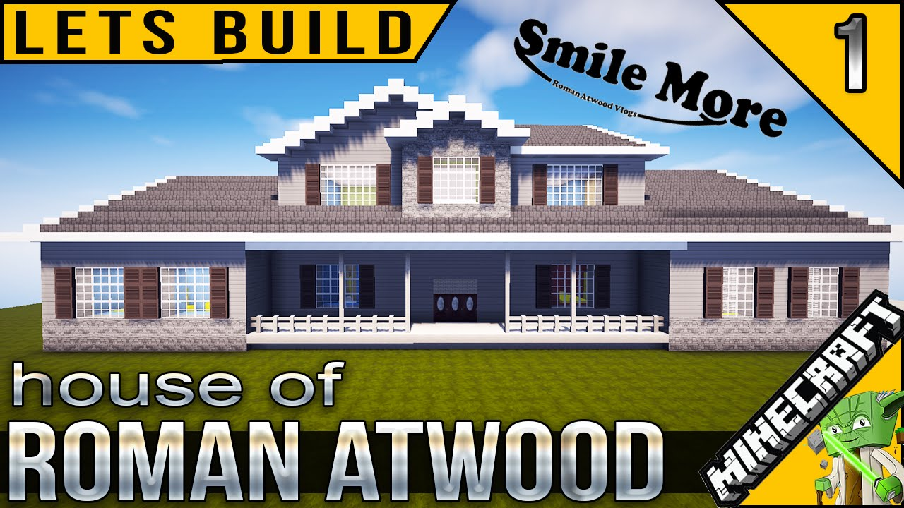 Roman Atwoodu0027s House In Minecraft   YouTube