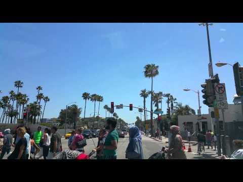 Drive in Santa Monica California