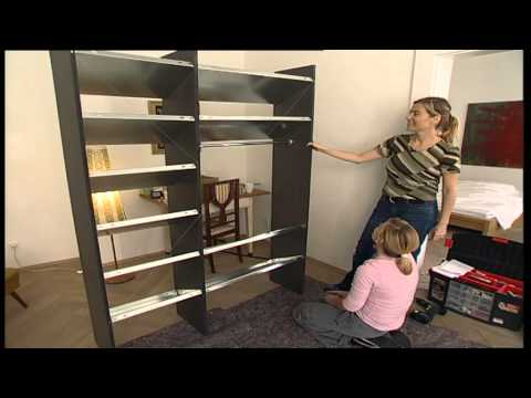 bauanleitung schuhregal selber bauen mashpedia video. Black Bedroom Furniture Sets. Home Design Ideas