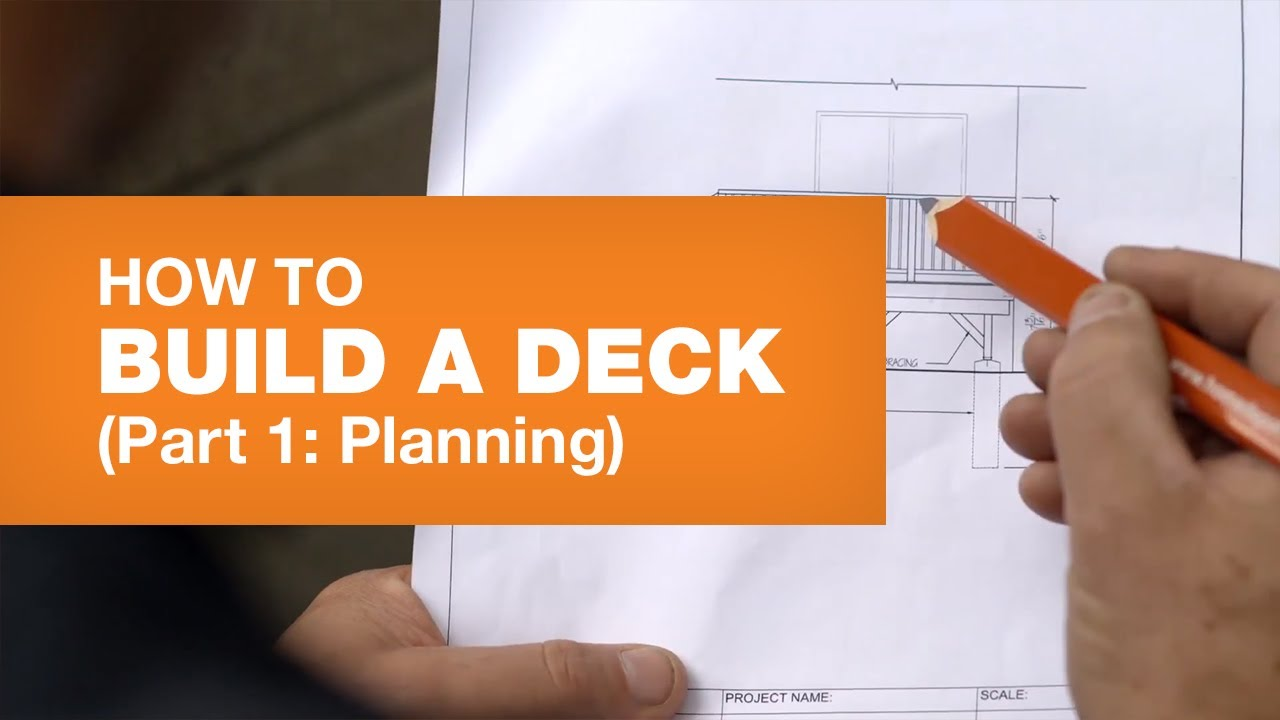 Deck Design Deck Planning How To Build A Deck Part 1 5 Youtube