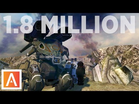 War Robots: Highest Damage Record | 1.8 MILLION Damage Gameplay