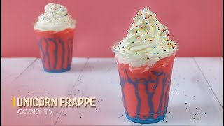 #CookyVN - Cách làm UNICORN FRAPPE siêu hot - How to Make a STARBUCKS UNICORN FRAPPUCCINO - Cooky TV