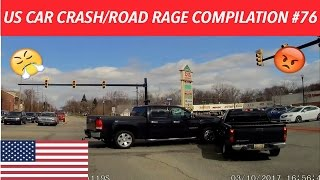 🇺🇸 [US ONLY] AMERICAN CAR CRASH/ROAD RAGE COMPILATION #76