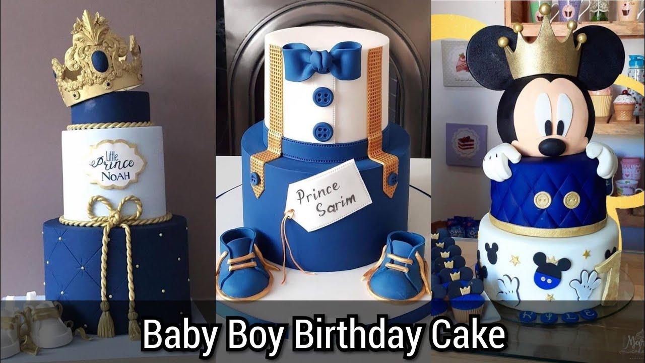50 Baby Boy 1st Birthday Cake Beautiful Ideas Kids Birthday Cake Youtube
