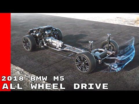 New 2018 BMW M5 xDrive All Wheel Drive System (AWD)