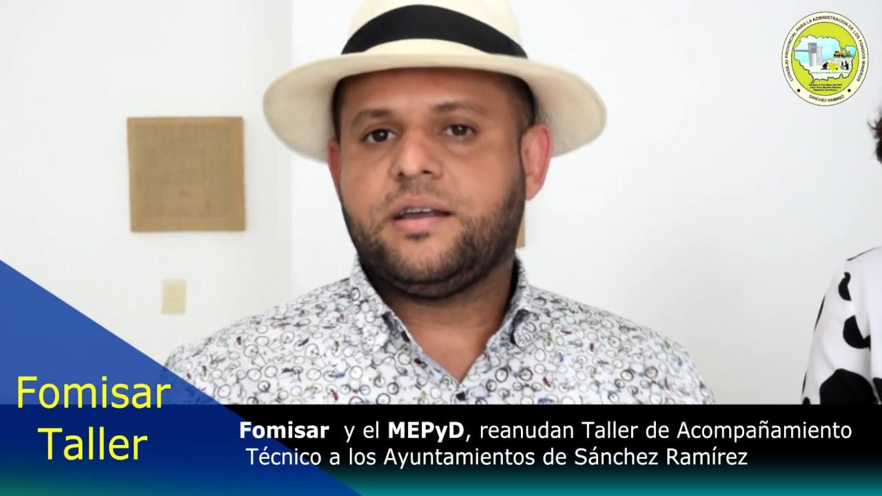 FOMISAR y MEPyD REANUDAN TALLERES DE ACOMPAÑAMIENTO TECNICO A LOS ...