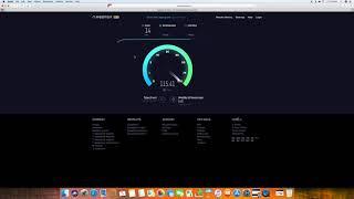 Charter Spectrum internet speed test