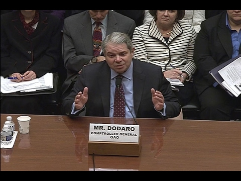 GAO: Comptroller General Testifies to U.S. House on GAO's 2017 High Risk List