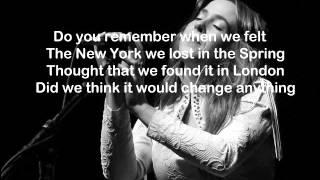 Serena Ryder-Please Baby Please- Lyrics