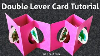 Double lever card | Handmade card for boyfriend  | Teacher's Day Card |