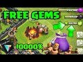 Clash of clans FREE 10000. . . gems? Achievements? ( Google play gift card ) sam1735