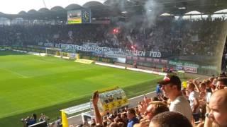 Torjubel bei Sk Sturm Graz gegen Rapid Wien, 10. Sept. 2016