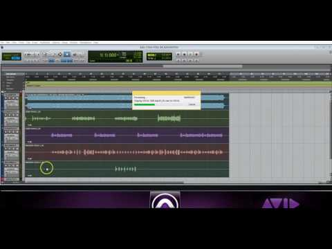 How To Convert Pro Tools Session Audio Files To Wave