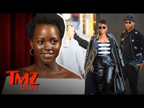 Lupita Nyong'o Slays In Leather And Black Panther   TMZ TV