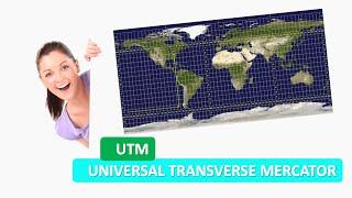 universal transverse mercator coordinate system utm