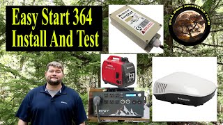 RV AC Using Small Inverters And Generators -  Easy Start 364 Install And Test