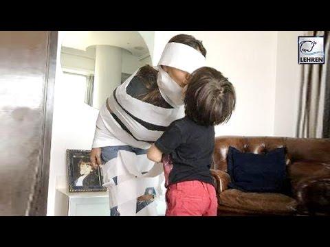 Shah Rukh Khan's Son AbRam Wraps Gauri Khan In Love | LehrenTV Mp3