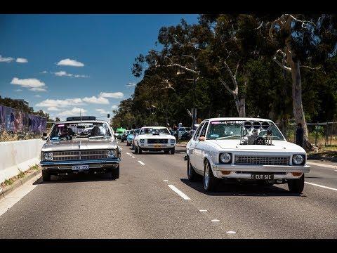 SUMMERNATS 31 CITY CRUISE | BLOWN BURNOUT CARS ON THE STREET