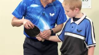 How to Play a Forehand Drive in Table Tennis - with Tao Li