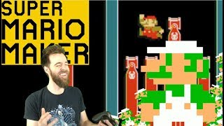 The BEST Level Ever Seen :} SUPER EXPERT NO SKIP [#16] [SUPER MARIO MAKER]