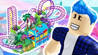 ROBLOX - ROLLER COASTER TYCOON - HOW TO MAKE AN AMUSEMENT PARK IN ROBLOX | JeromeASF