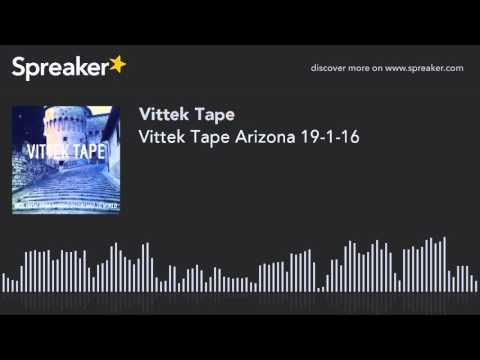 Vittek Tape Arizona 19-1-16