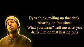 Asap Rocky Goldie Lyrics