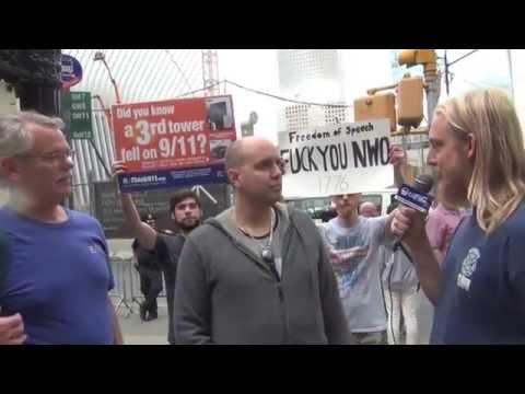 9/11 Truth Legend Matt Mills Interviewed Near Ground Zero