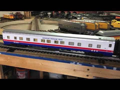 Lionel American Freedom Train StationSounds Exhibit Car