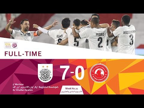 Al Sadd 7 - 0 Al Arabi (Week 21)