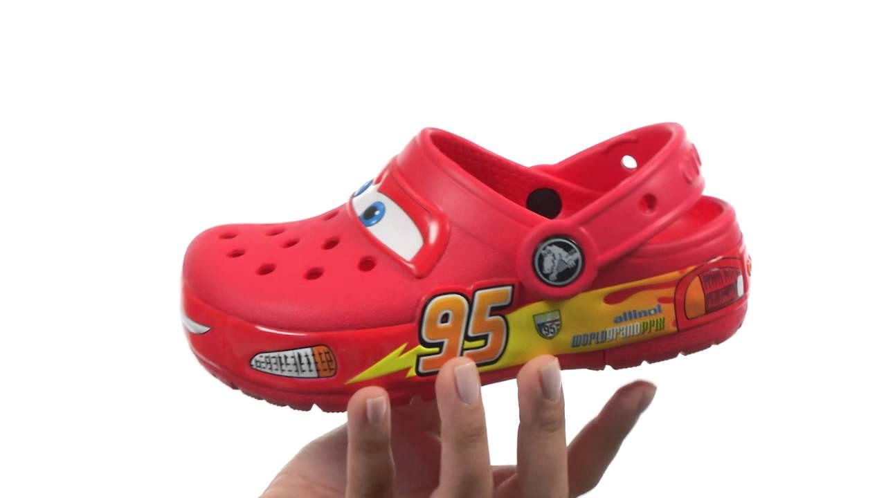 2f21e73cb17b Crocs Kids CrocsLights Lighted Cars Clog (Toddler Little Kid) SKU  8266146