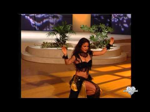 Belly Dancer Marina • Turkish Cabaret Style Drum Solo
