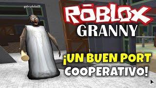 ROBLOX: GRANNY A GOOD COOPERATIVE PORT!