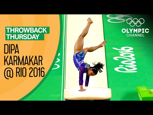 Dipa Karmakar on her Produnova vault at Rio 2016 | Throwback Thursday