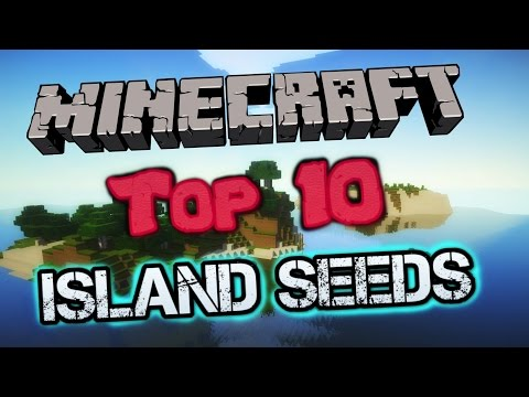 Minecraft Survival Island Seeds- TOP 10 BEST Island Seeds for 1.8! (HD)