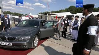 Jalsa Salana UK 2018: Flag Hoisting Ceremony with Hazrat Mirza Masroor Ahmad