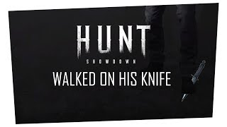 (CLIP) WALKED ON HIS KNIFE (HUNT)