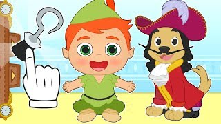 BABY PETS Max Dresses up as Captain Hook 💥 Cartoons for Kids