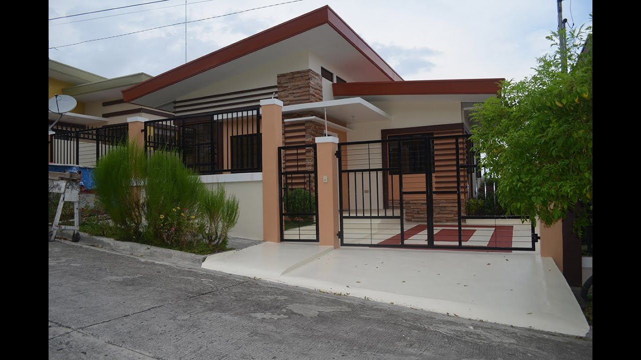 3 Bedroom House Impressive Mh27 Modern 3Bedroom House For Sale La Vista Monte Davao City Inspiration