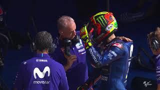 Movistar Yamaha discuss the Catalan GP