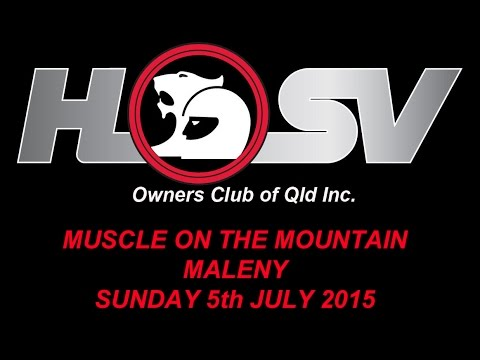 HSVOC - Muscle on the Mountain - Maleny - Sunday 5th July 2015