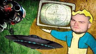 Fallout 4 8 - Секретная комната, НЛО и максимальный LVL