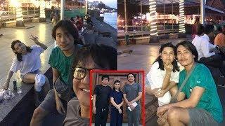 Cát Phượng để mặt mộc, vui vẻ đi chơi cùng Kiều Minh Tuấn ở Campuchia sau loạt ồn ào..!!