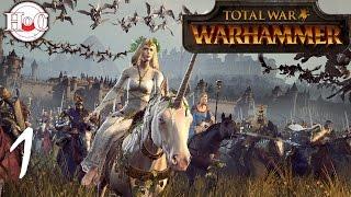 Total War Warhammer - Bretonnia - Fay Enchantress Campaign 1